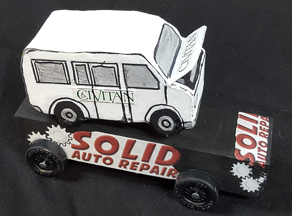 Title sponsor car - Solid Auto Repair