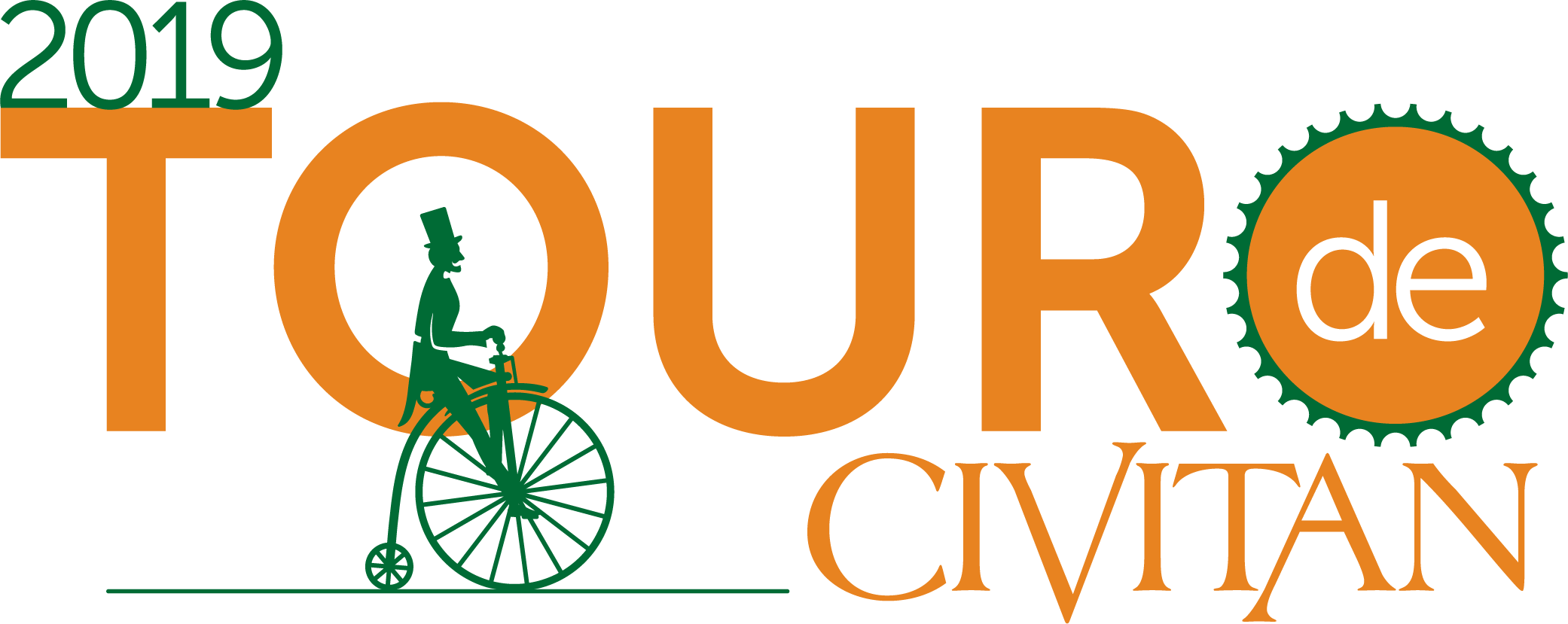 Logo for Tour de Civitan 2019